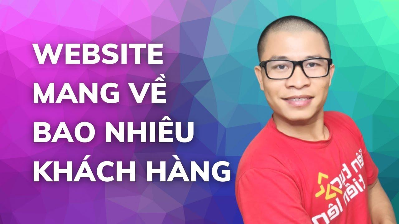 website có bao nhiêu khách hàng